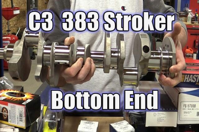 Building a 383 Stroker Small Block for a Corvette C3