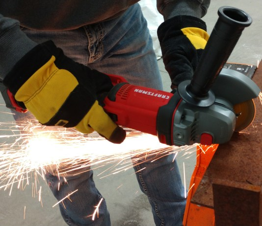 "NEW CRAFTSMAN V20 4.5"" 20-Volt Angle Grinder Review & New Sockets Set at LOWES"