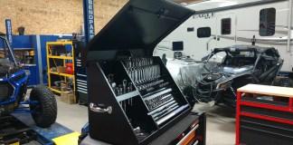 Montezuma 36 x 17 Steel Triangle Toolbox XL450 Organize More Than 280 Tools