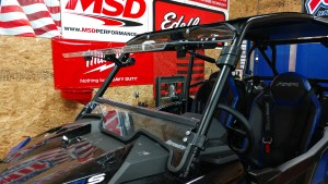 Super ATV Polaris RZR XP Turbo S Flip Windshield Install | Scratch Resistant Polycarbonate