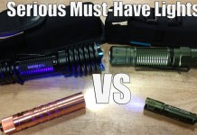 OLight i5T EOS CU vs M2R Pro Warrior vs Warrior X Pro & i3UV EOS Review