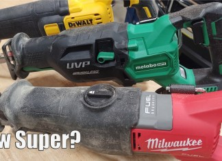 Milwaukee M18 FUEL Super Sawzall Vs Metabo HPT MultiVolt 36-Volt Recip Saw & Dewalt FlexVolt 60-Volt