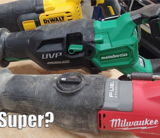Milwaukee M18 FUEL Super Sawzall Vs Metabo HPT MultiVolt 36-Volt Recip Saw & Dewalt FlexVolt 60-Volt