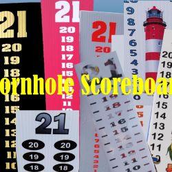 Cornhole Scoreboards
