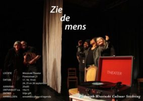 Zie de Mens flyer