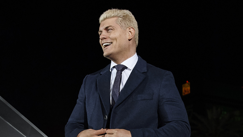Cody Officially Allowed To Use The Rhodes Name