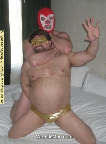 WrestleMen Wrestling Profile HeadSqueezeKing