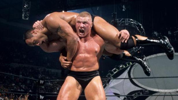 SummerSlam Recall, Match #12: The Rock vs. Brock Lesnar, SummerSlam 2002 -  WrestleRant