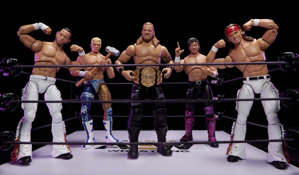 New AEW action figures available for pre-order