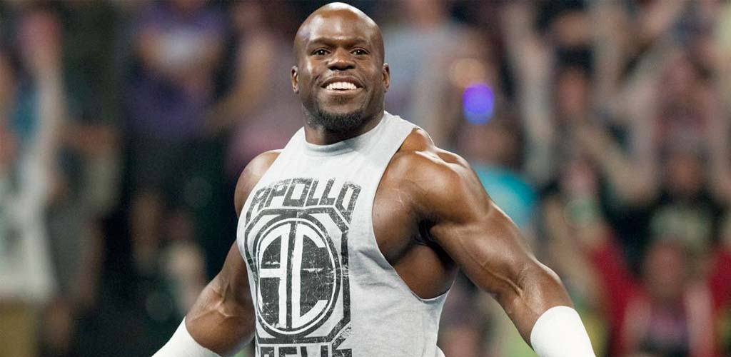 Apollo Crews out of the Money In The Bank ladder match
