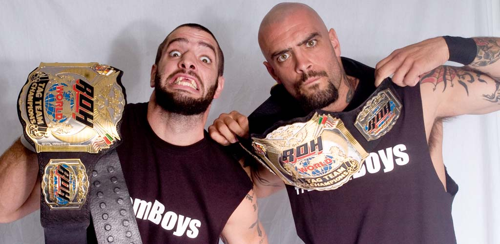 Briscoe Brothers attend non-televised live WWE event