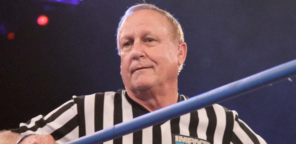 Earl Hebner to be inducted into the TNA Hall of Fame tonight