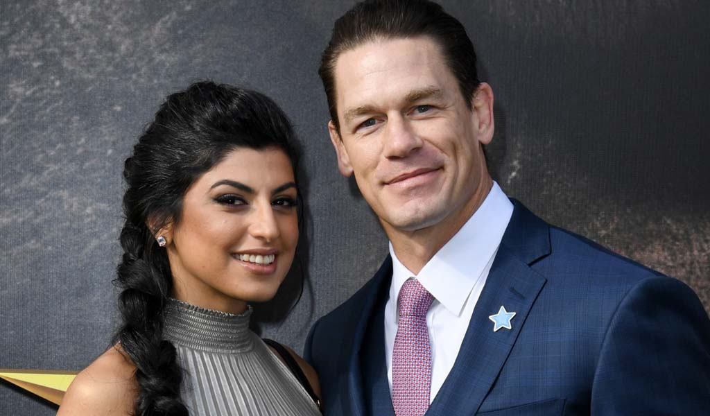 John Cena marries girlfriend Shay Shariatzadeh in secret ceremony in Tampa