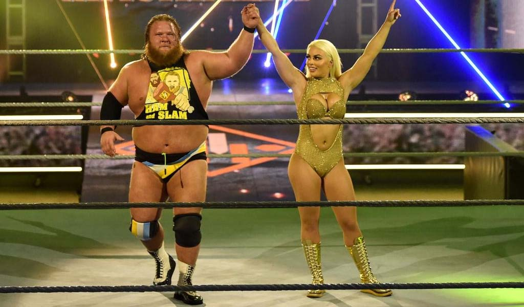 Otis and Mandy Rose returning to Smackdown next week