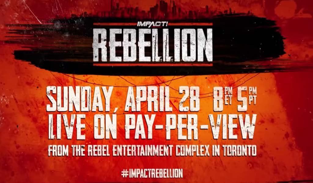 Rebellion 2019 pay-per-view results