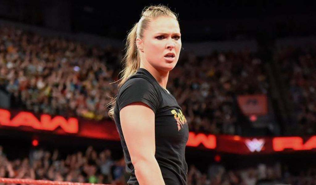 Ronda Rousey trains with James Storm as return rumors continue