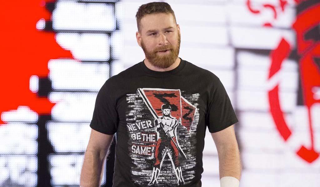 Sami Zayn replaces Braun Strowman in the men's MITB ladder match