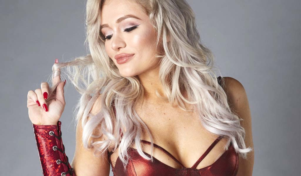 Scarlett Bordeaux having tryout at WWE Performance Center
