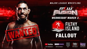 MLW Announces Tom Lawlor Segment For Wednesday's FUSION