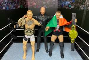 Triple H, Finn Balor And Conor McGregor Tease Big Match?