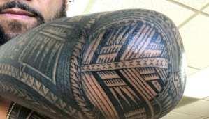 Photos: WWE Superstar Has Tattoo Work Done