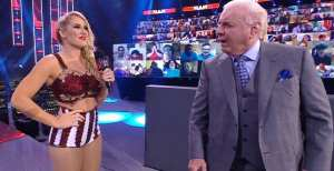 "Ric Flair Talks Lacey Evans – Charlotte Storyline: ""It Kind Of Caught Me Off Guard"""