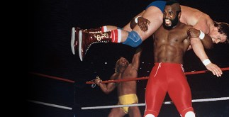Mr T at WrestleMania