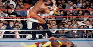 wrestlemania 5 - hulk hogan vs macho man