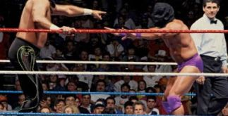 WrestleMania 7 - blindfold match