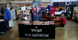 Virgil's booth at the Pittsburgh Home and Garden Show courtesy Douglas Derda of ShouldIDrinkThat.com