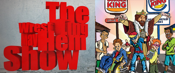 Wrestling Mayhem Show 494: Burger King Club