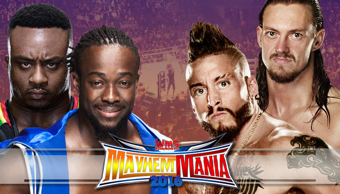 The New Day (Kofi Kingston & Big E) vs. Enzo Amore & Colin Cassady