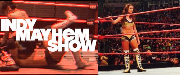 Britt Baker on WWE RAW