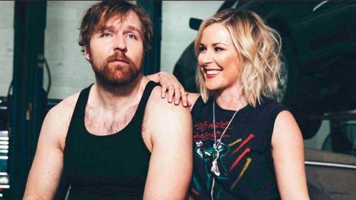 Dean Ambrose and Renee Young