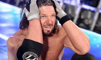 WWE Star AJ Styles In Tears