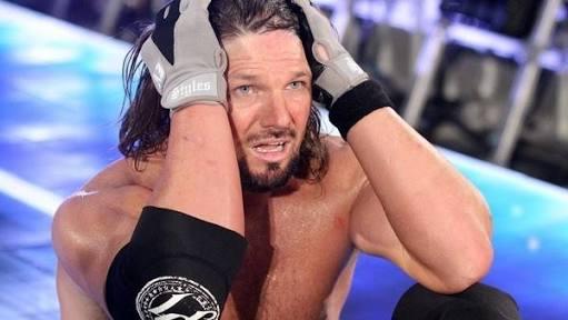 AJ Styles in Tears