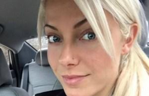 Alexa Bliss beautiful face