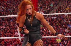 Becky Lynch defeated Sasha Banks in Hell in a Cell