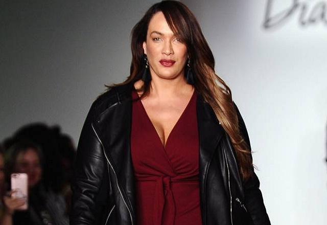 Nia Jax on red after announced dating