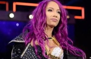 Sasha Banks injury