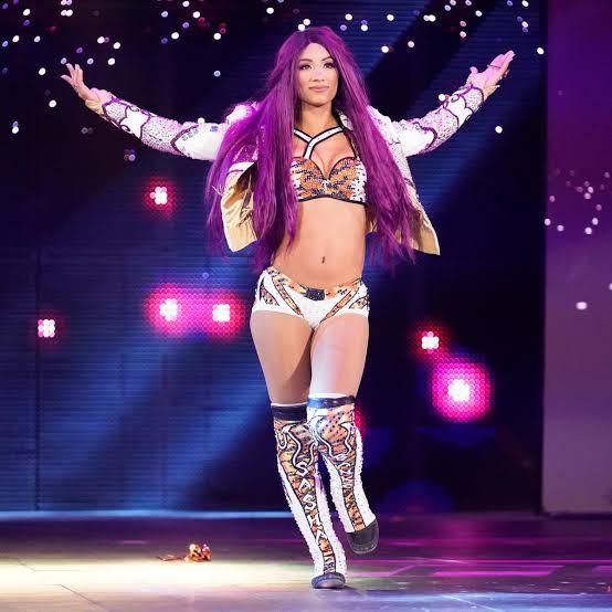 Sasha Banks new look