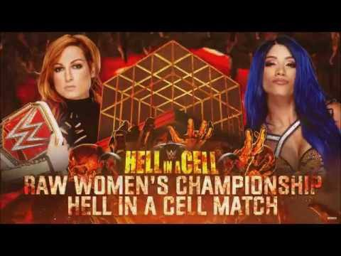 Sasha Banks vs Becky Lynch Hell In a Cell brutal match