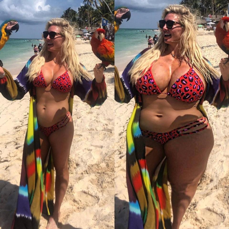 WWE Charlotte Flair weight gain