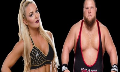 WWE Stars Mandy Rose and Otis