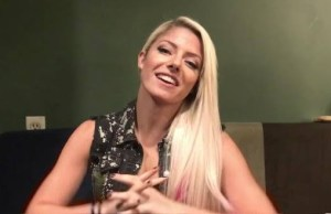 Alexa Bliss happy