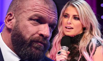 Alexa Bliss on Triple H not like her