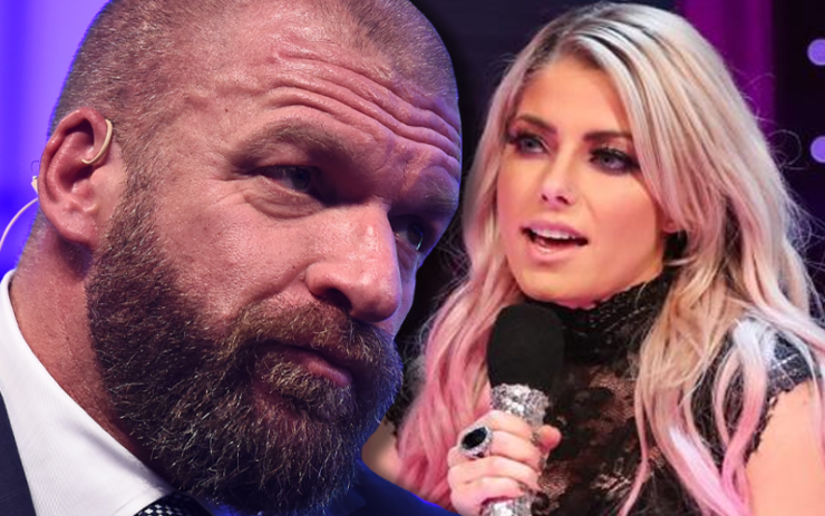 Alexa Bliss on Triple H not like her