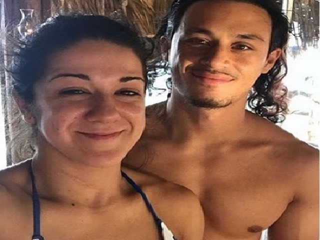 Bayley WWE Star and her boyfriend Aaron Solow