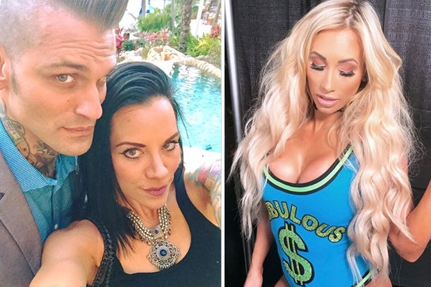 Corey Graves denies affair Carmella wife accuses Instagram