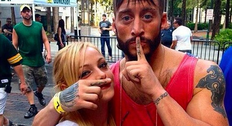 Liv Morgan and Enzo Amore